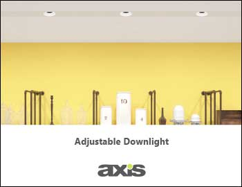 Adjustable Downlight Brochure THUMB Fr