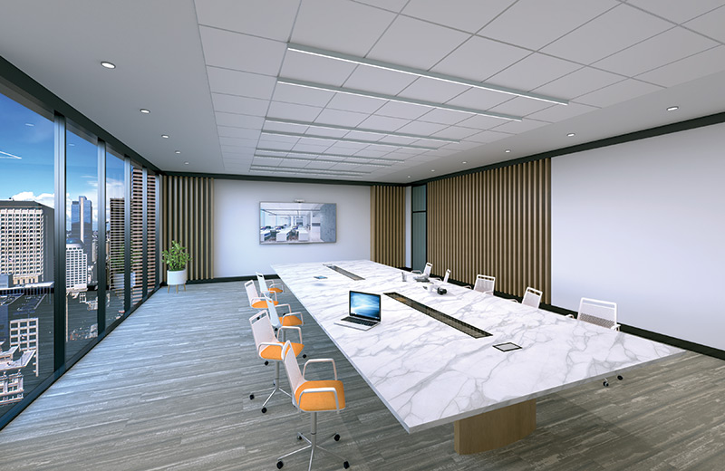 Stencil Linear Render Surface AP Meeting Room