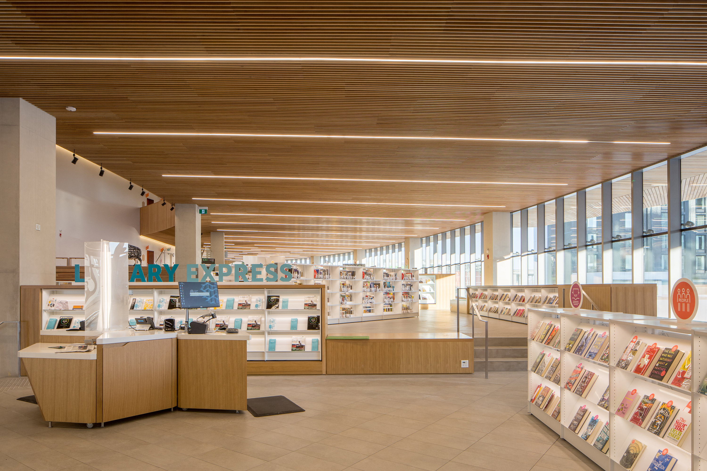 Beam2 Photo Recessed Library New Central Library Copyright Hainsworth Photography 02 HR