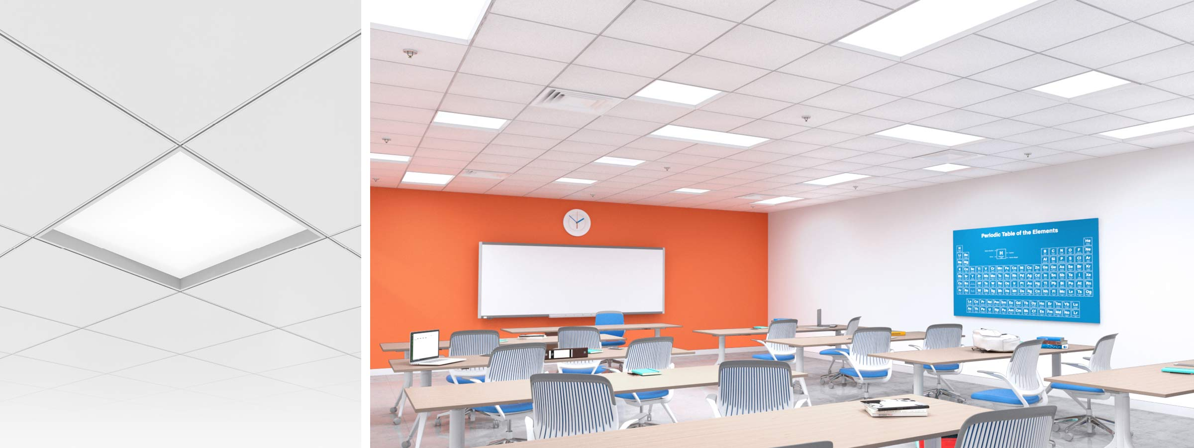 Skyeplane Regressed Render Recessed Mixt Tile Classroom HERO