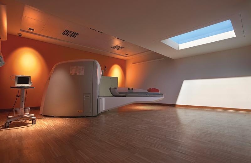 CoeLux Photo HE 45HC MRI Room