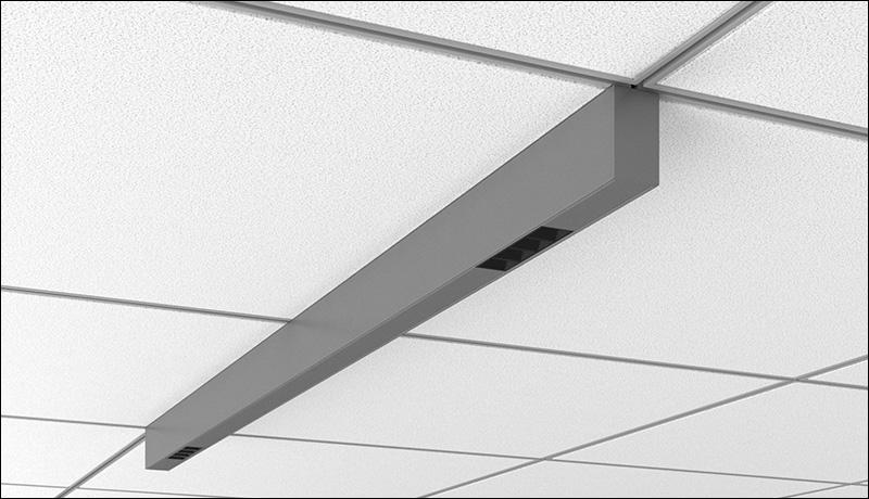 Stencil Surface 4ft AP Mikrolite Render Product Ceiling Tile Perspective2
