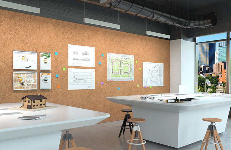 Wall Wash Perfekt Render Pendant AP Architects Open Office