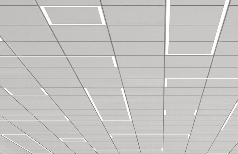 Sculpt Geometric Ceiling