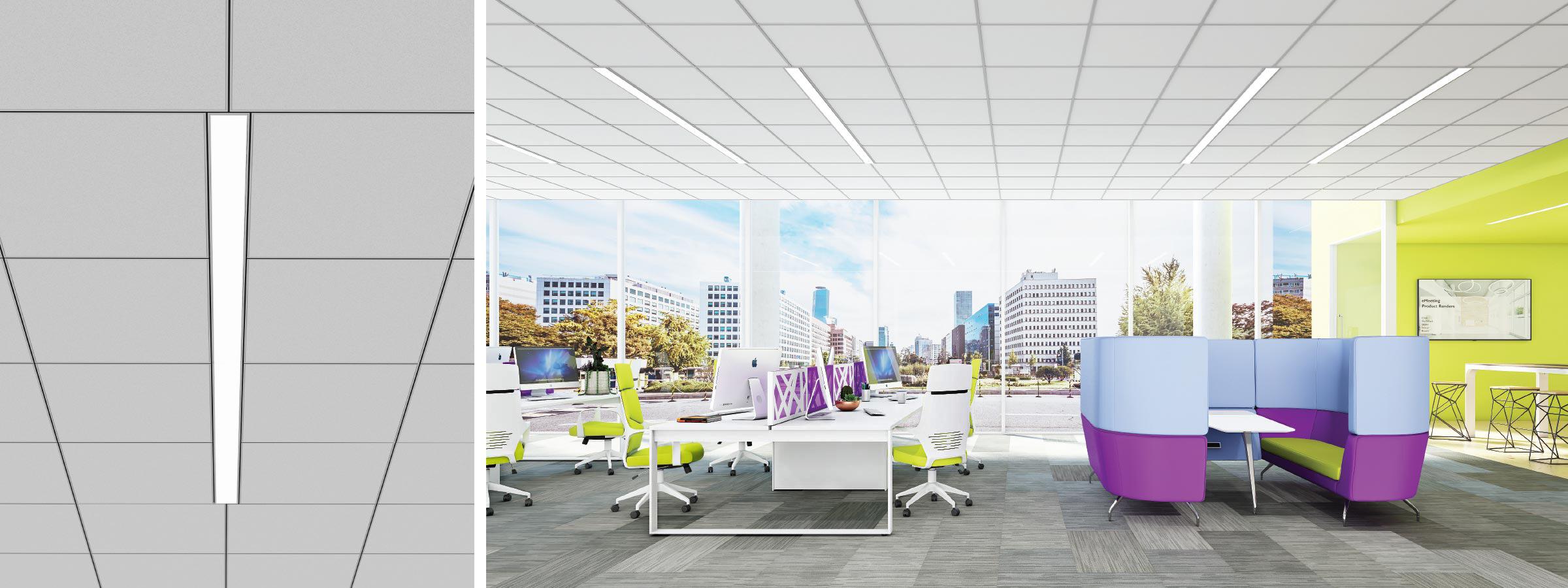 Click render recessed SO open office HERO