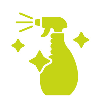 Clean Icon Spray Bottle