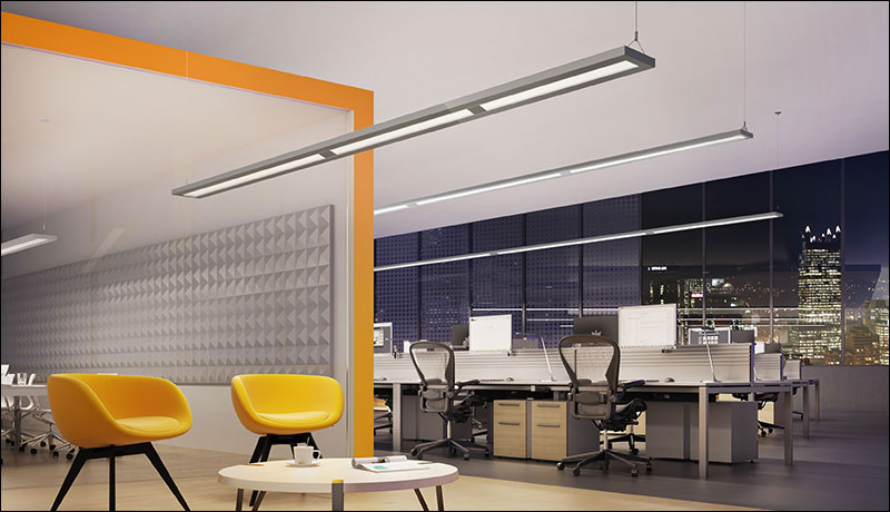 Slim Render Pendant AP Open Office