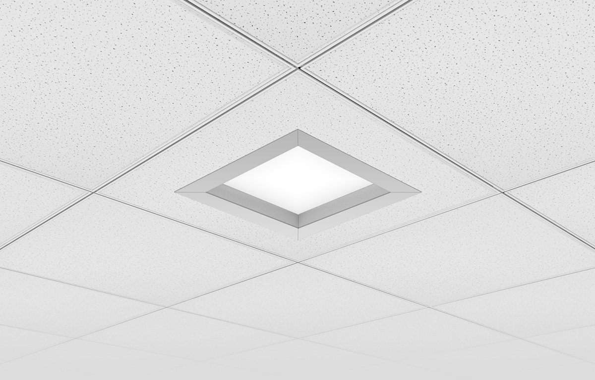 Skyeplane Regressed1x1 Product Recessed AP SO Perspective View Bg Gray CO2