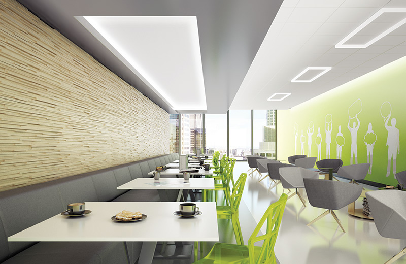 Cove Ceiling Render Cafeteria 01 CO