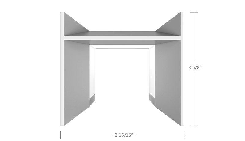 Zen SQ Dimensions