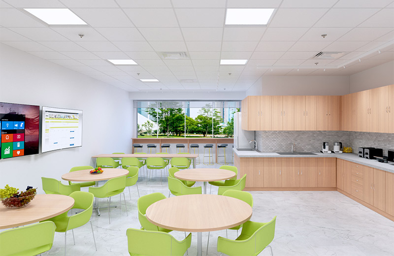 Skyeplane Regressed Render Recessed Mixt Axis Cafeteria CO1